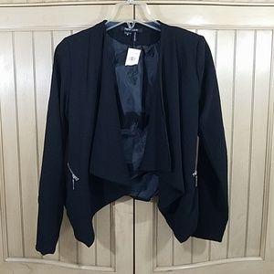 New Look Black Jacket, sz M NWOT